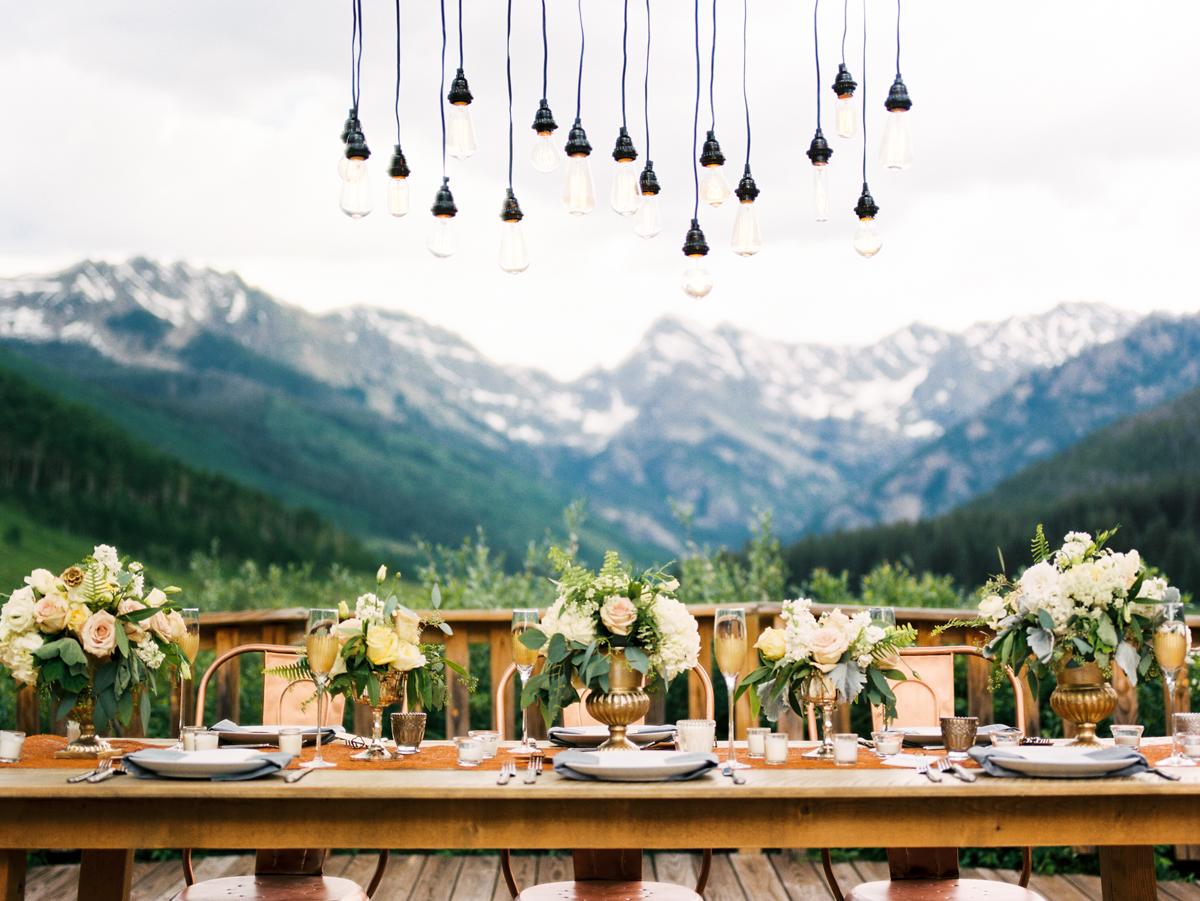 Rustic Modern Mountain Wedding Ideas Elizabeth Anne