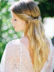 casual bridal hair - elizabeth