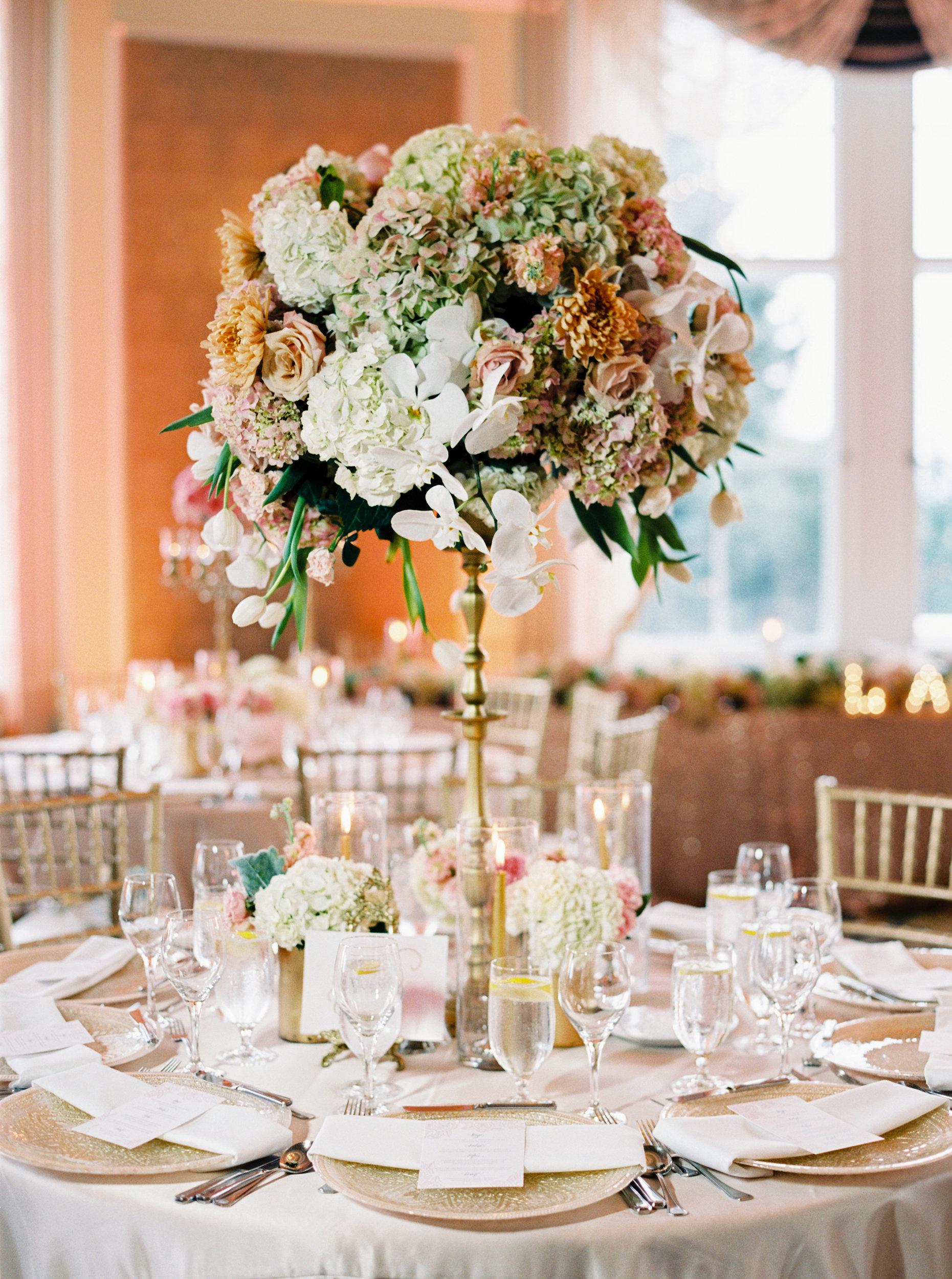 Elegant Topiary Centerpiece  Elizabeth Anne Designs The Wedding Blog