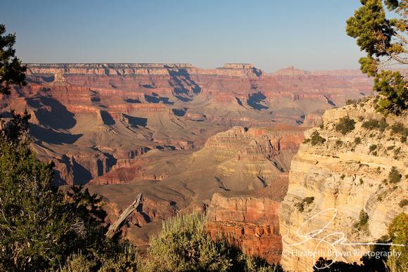 Powell Point. Grand Canyon South Rim, AZ.