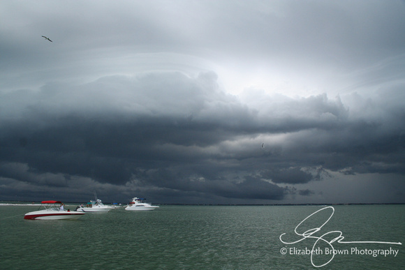 Afternoon Storm on the Gulf of Mexico near Dunedin, FL