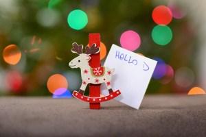 christmas ornament writing