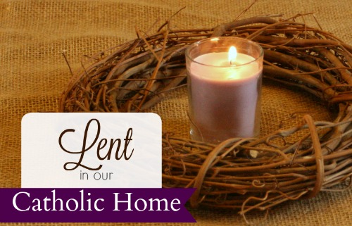 Image result for lent in our catholic home