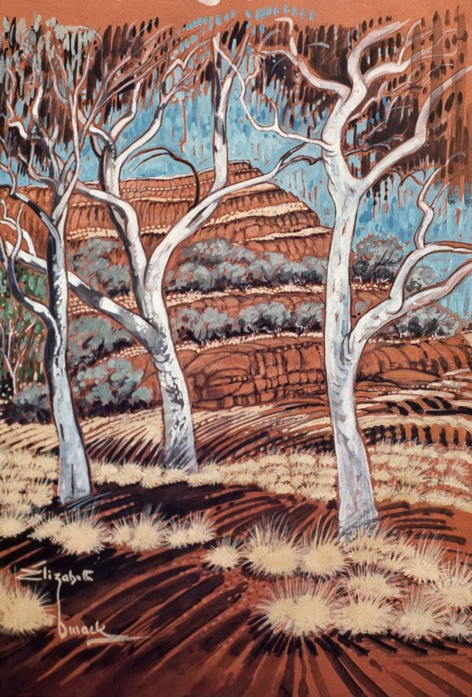 ELIZABETH DURACK  australian artist  19152000  artworks prints