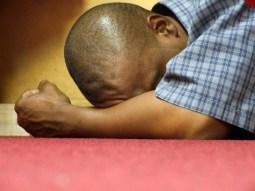 prostrate praying