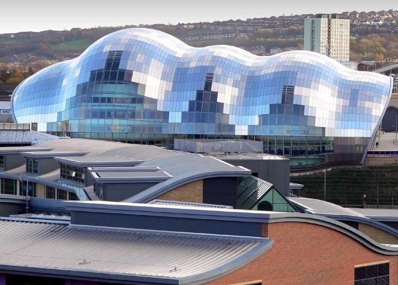The Sage Gateshead - Venue for Traverse Travel Bloggers Conference 2014