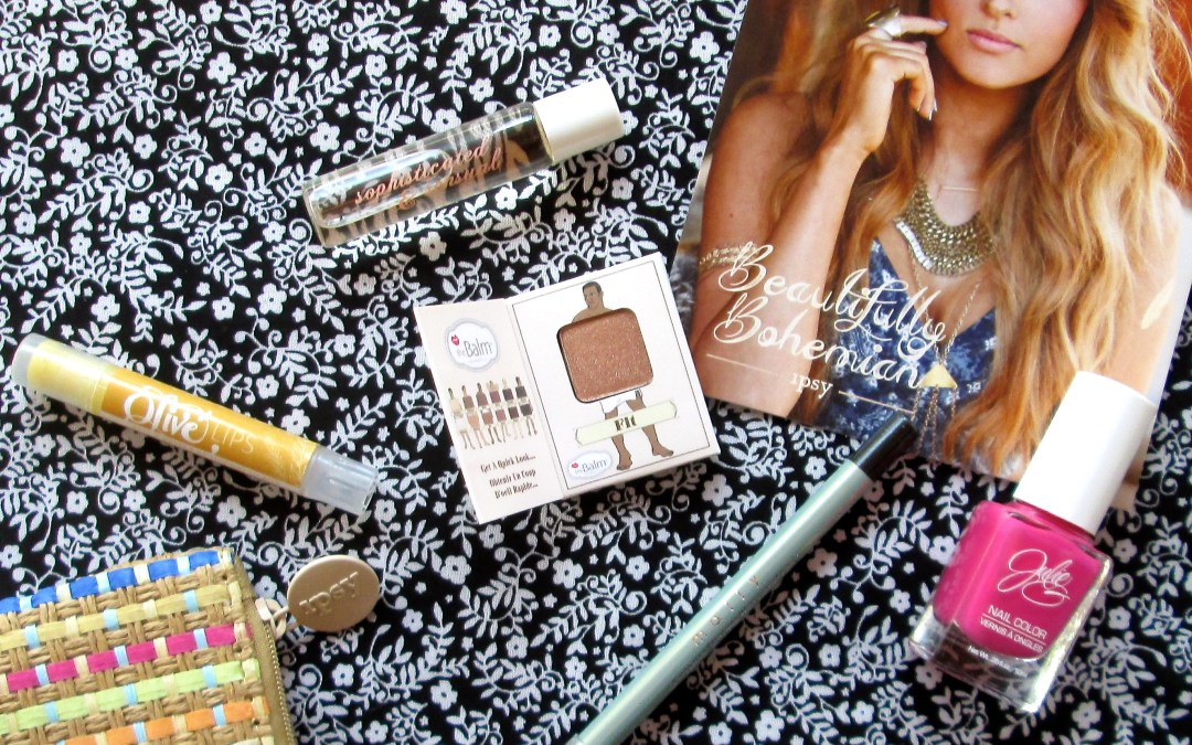 Ipsy Glam Bag April 2015 Review/Unboxing
