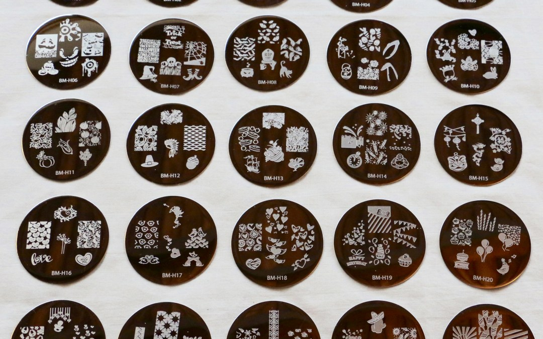 Bundle Monster 2013 Holiday Stamping Plate Collection | Review