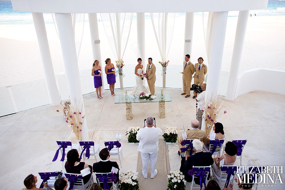 Cancun Wedding Photography Missy and Brian Le Blanc Spa Resort