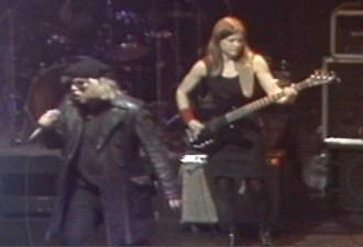 Jeffrey Lee Pierce and Elizabeth Montague in 1995. Video ©David Travis