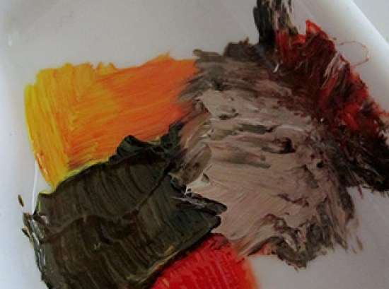 Mixing Paint Colours What Colours Make Brown Elizabeth Reoch