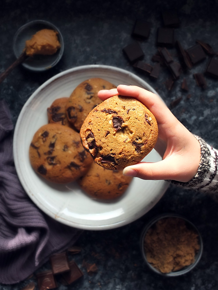 Peanut Butter and Chocolate Chip Cookies image