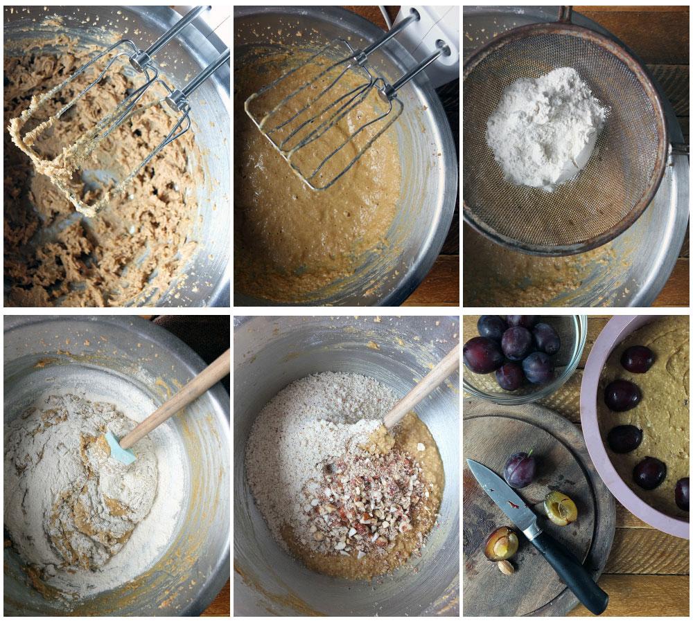How to make a Hungarian Plum Cake