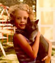 Young Elizabeth with cat (1)