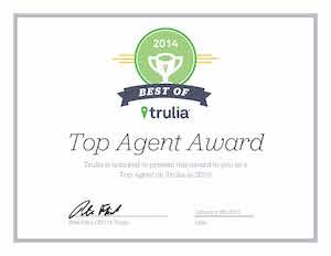 Elizabeth Weintraub Ranks as the Best of Trulia Agent