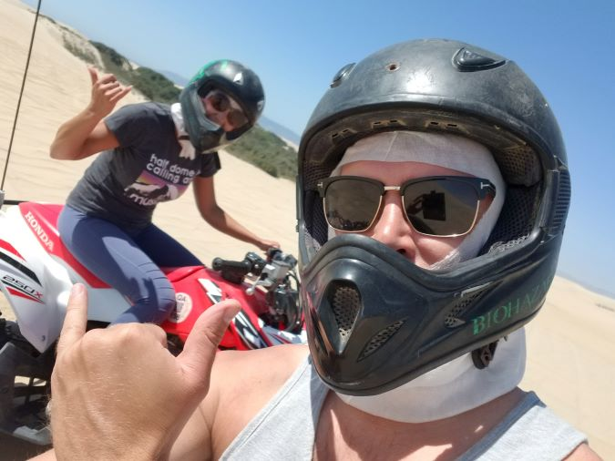 Josh and Vica at Pismo Beach