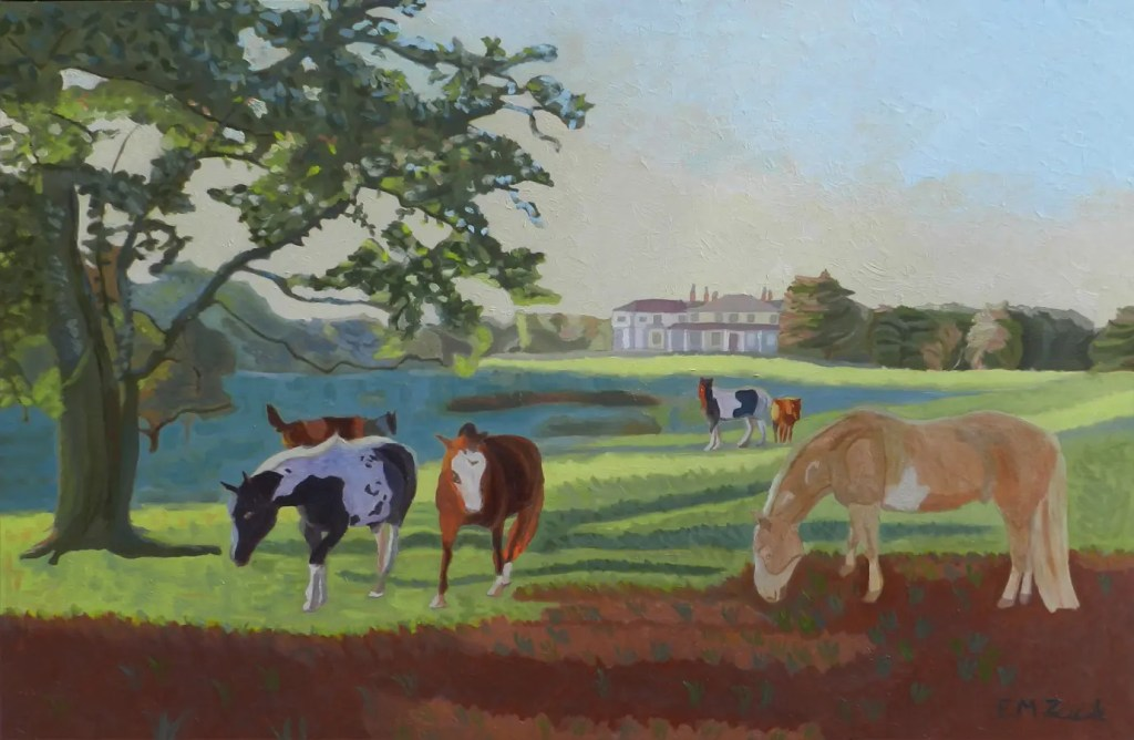 Grazing at the Manor House