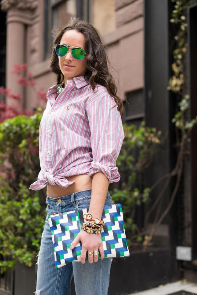 The Village Vogue   A Fashion and Lifestyle Blog by Eliza Higgins   Borrowed Button-down
