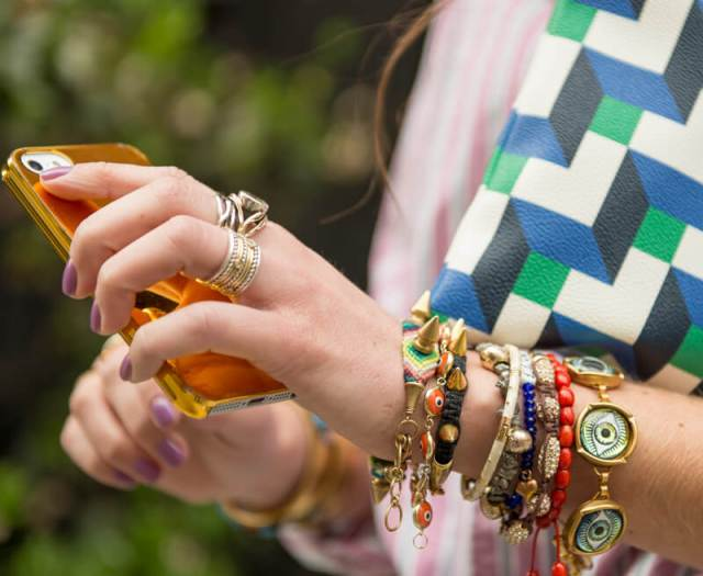 The Village Vogue   A Fashion and Lifestyle Blog by Eliza Higgins   Stacked Bangles