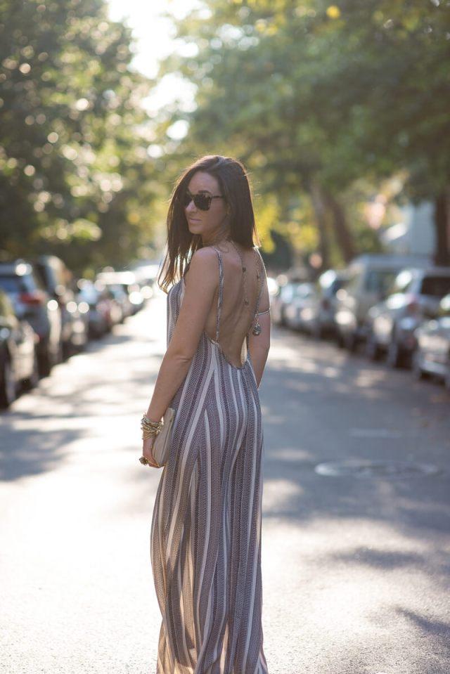 The Village Vogue - Flynn Skye Backless Maxi Dress