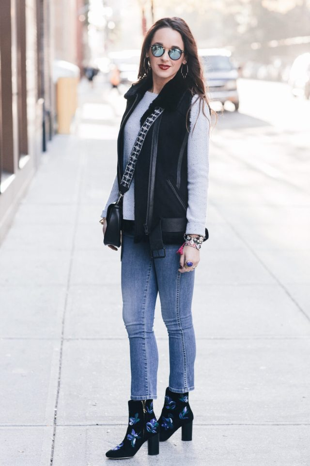 Outfit Inspiration For When You Don't Need A Coat But You Don't Not Need A Coat | elizahiggins.com