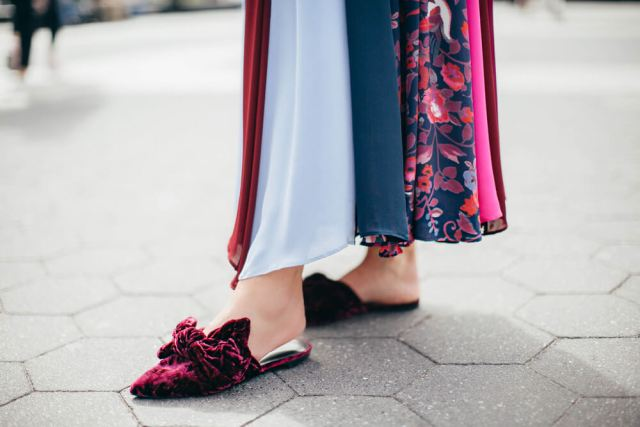 Consider Velvet Slippers & Dreamy Dresses This Holiday Season | elizahiggins.com