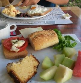 foto breakfast chalkidiki