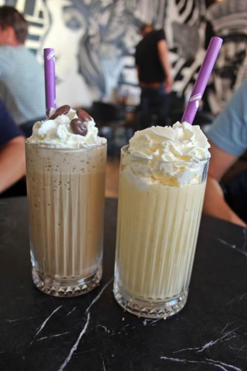 Diego´s burgers Rotterdam  Milkshake
