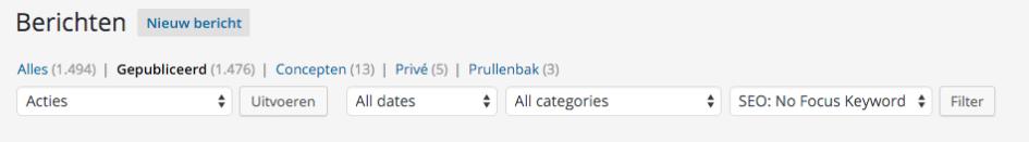 blog optimaliseren voor zoekmachines