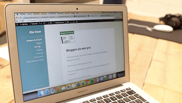e-learning module bloggen als een pro