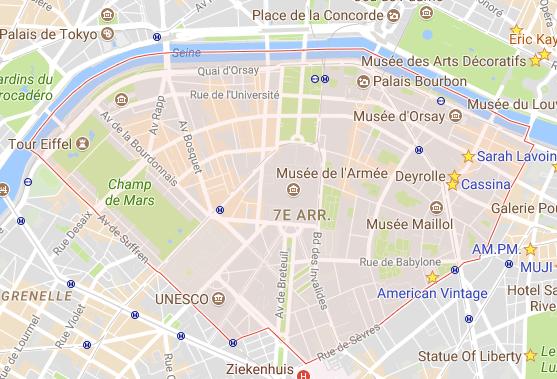 woonshoppen 7e arrondissement