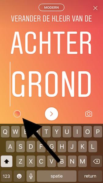 Instagram stories mogelijkheden 4 letters 3