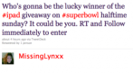 superbowl op twitter