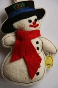 Sneeuwpop voor doc