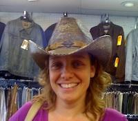 Elja Daae inclusief cowboyhoed