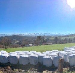 Vista panoramica desde el alto Piedratecha (Tineo)