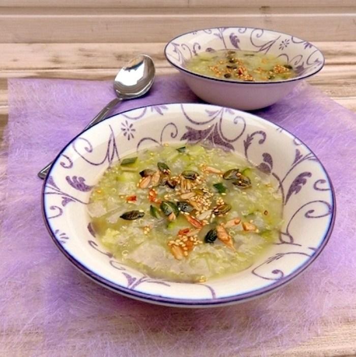 Sopa de Quinoa y Vegetales  (3)