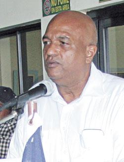 Lic. Juan Silvestre de Jesús, Presidente del Consejo de Administración de Cooproagro
