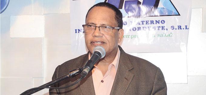Dr. José Polanco Liranza, en su palabras centrales.