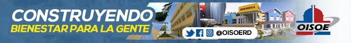 Oficina de Ingenieros Supervisores de Obras del Estado (OISOE) Teléfonos: 809-686-8920 / 809-682-8488, Calle Moisés García, esq. Dr. Báez, Gazcue, Santo Domingo, D.N. www.oisoe.gob.do
