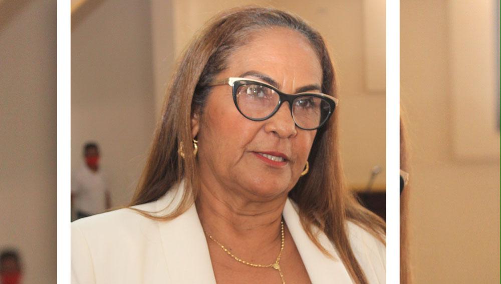 Gobernadora Provincial de Duarte, Ana Xiomara Cortés Marte.