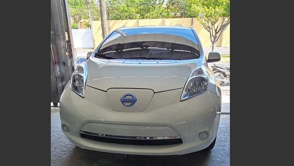Nissan Leaf 2015, propiedad de José Hernández. | Fuente externa.
