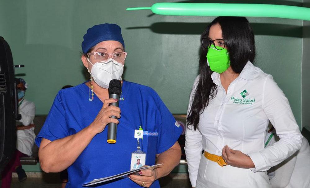 La actividad inaugural estuvo coordinada por Odilis Hidalgo, directora de comunicaciones del centro y Laura Faxas, especialista en experiencia del usuario.