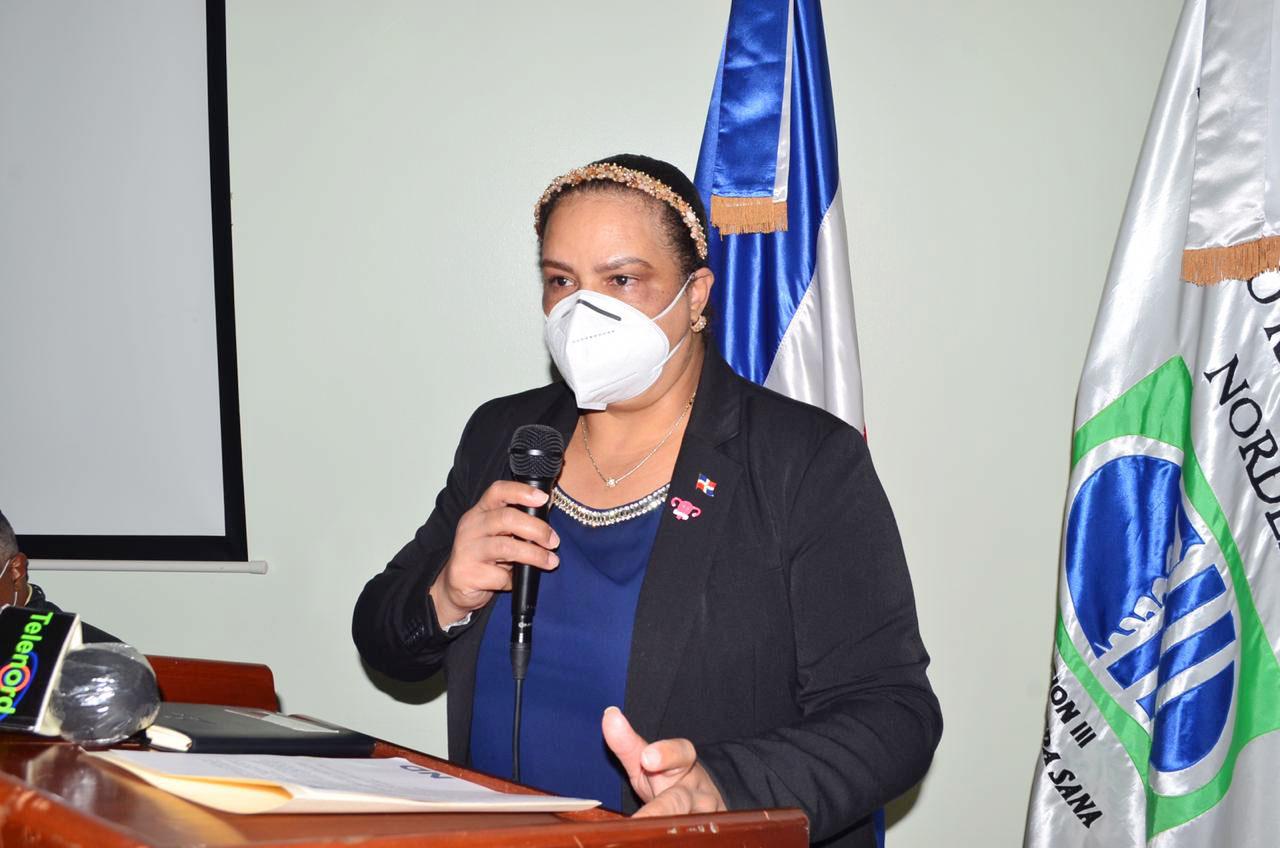 Dra. Nurys Miguelina Vargas, dirigió durante cinco meses la Regional III de SNS.