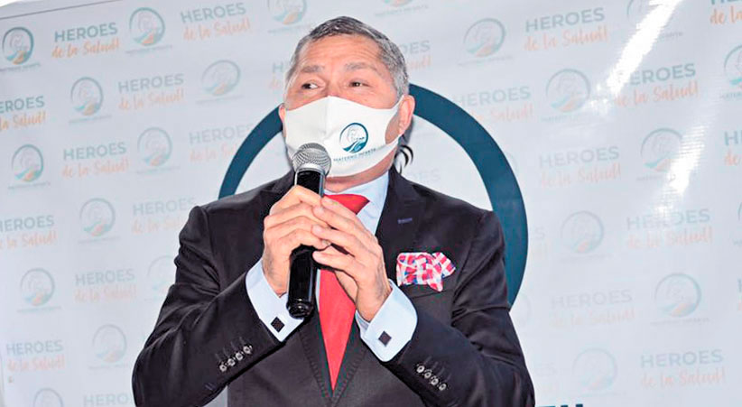 ❏ Dr. Ángel Almánzar, presidente del consejo administrativo del CMI.