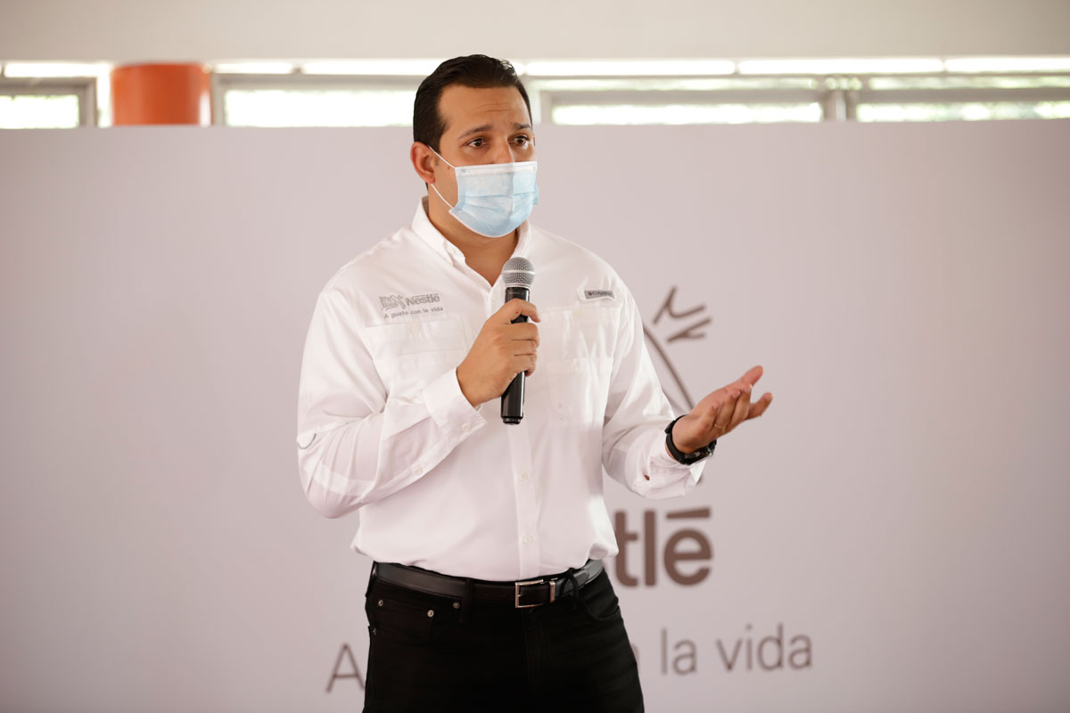 Jorge Rivas, Gerente de Fábrica de San Francisco de Macorís