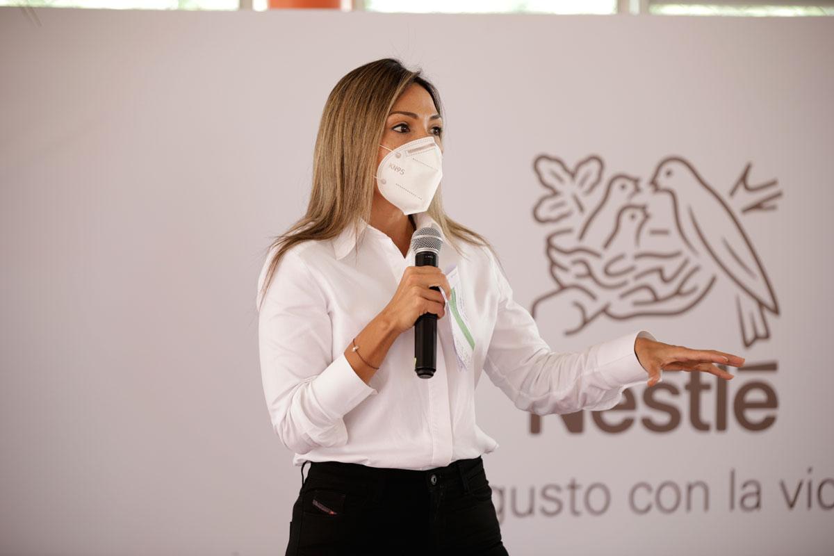 Patricia Mejía, Gerente de Asuntos Corporativos de Nestlé Caribe Latino