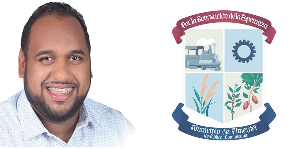 El alcalde del municipio de Pimentel, licenciado Noel Abreu Mora (Noli).