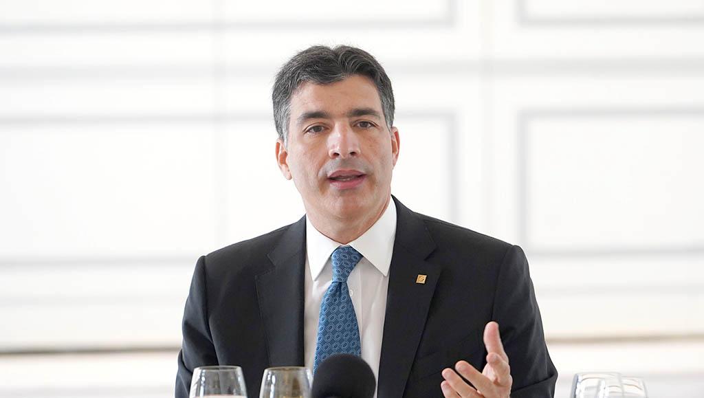El señor Christopher Paniagua, presidente ejecutivo del Banco Popular Dominicano.
