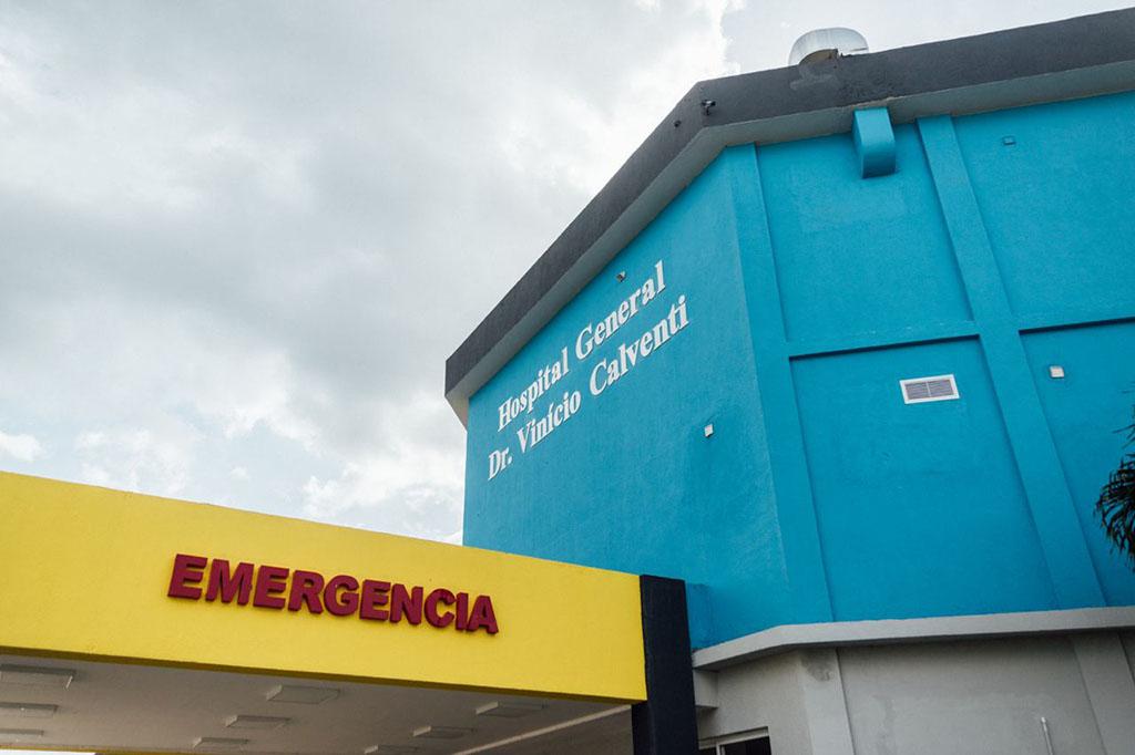 Hospital General Dr. Vinicio Calventi, en el sector de los Alcarrizos.